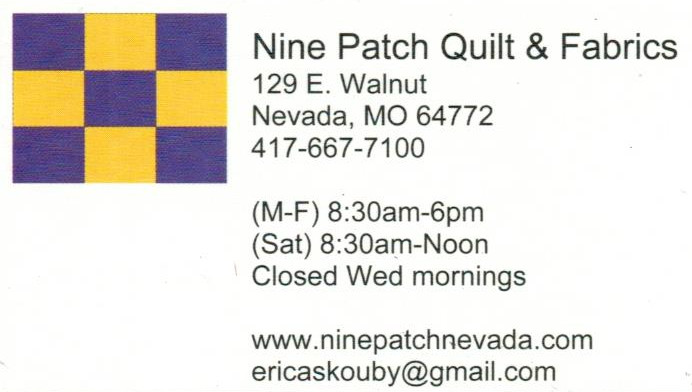 Nine Patch Quilt & Fabrics