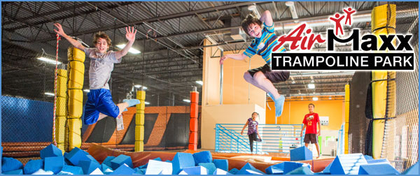 airmaxx trampoline park one hour jump at trampoline park