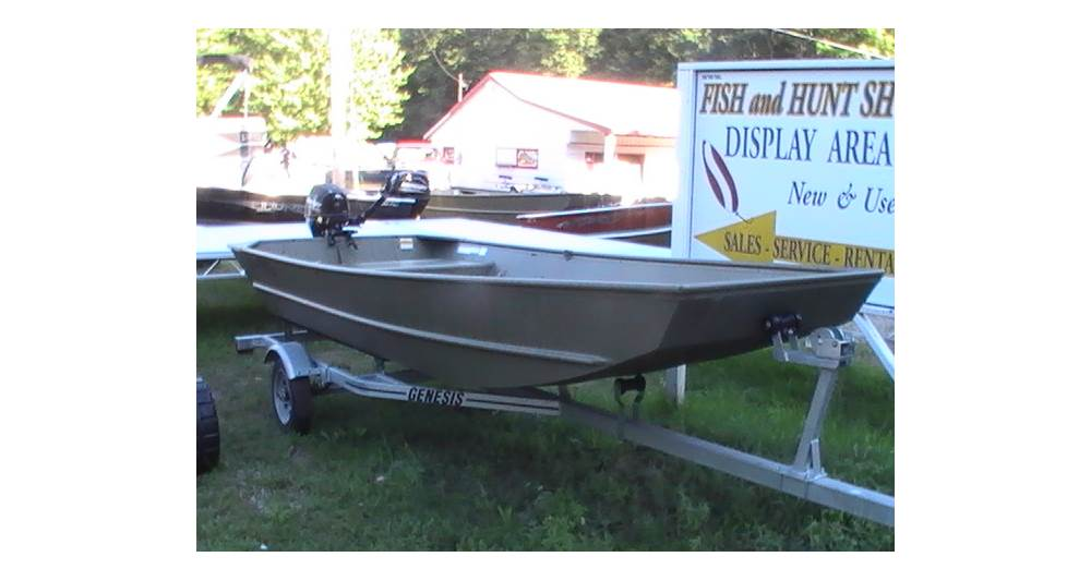 Fish and Hunt Shop 14ft Lund 1448 T Jon boat Pram with