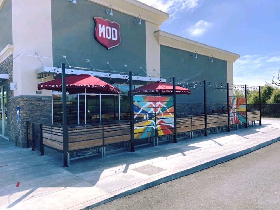 MOD Pizza Pair of MOD Pizza Cards