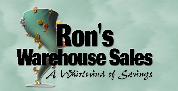 Image result for ron's warehouse logo