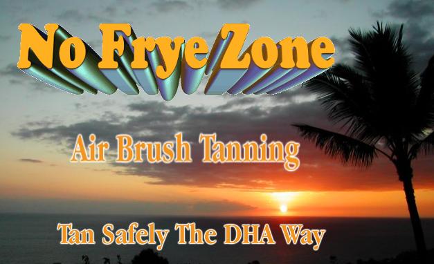 No Frye Zone Air Brush Tanning
