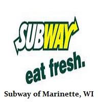 Subway of Marinette-Menominee-Peshtigo