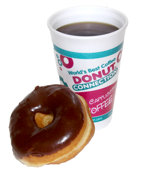 donut connection menu prices