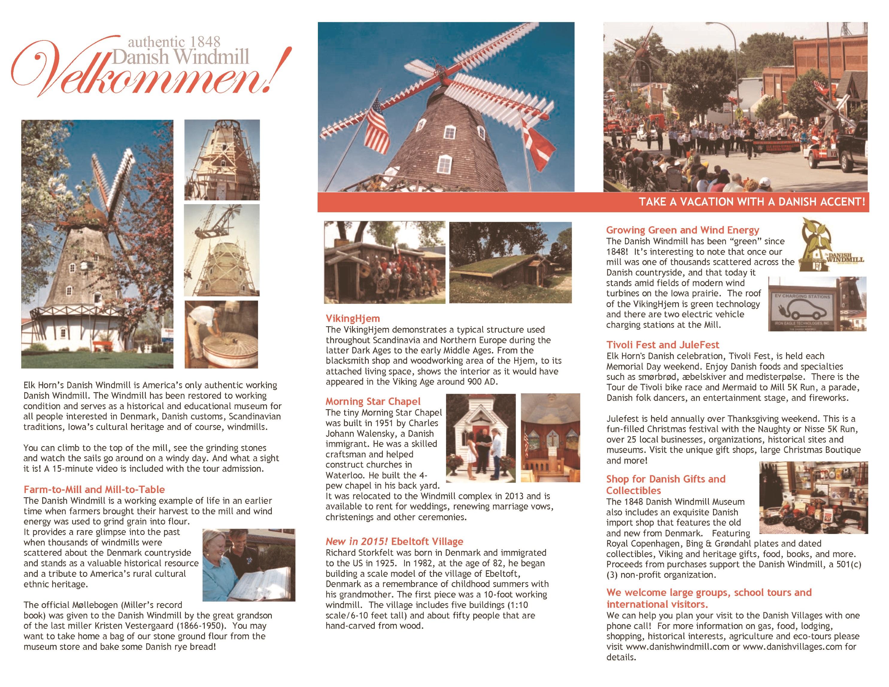 The Danish Windmill  Gift Certificate - Scandinavian museums in us