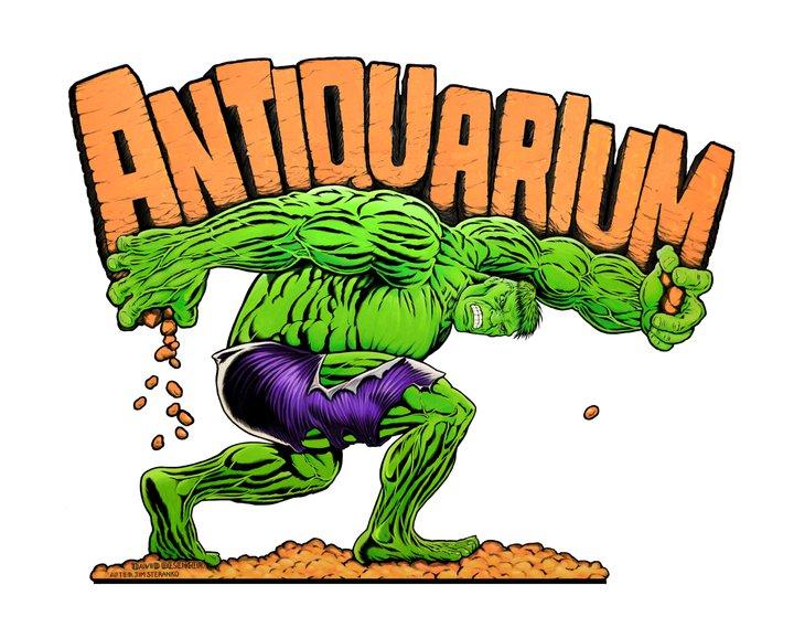 Antiquarium Comics, Books & Collectibles