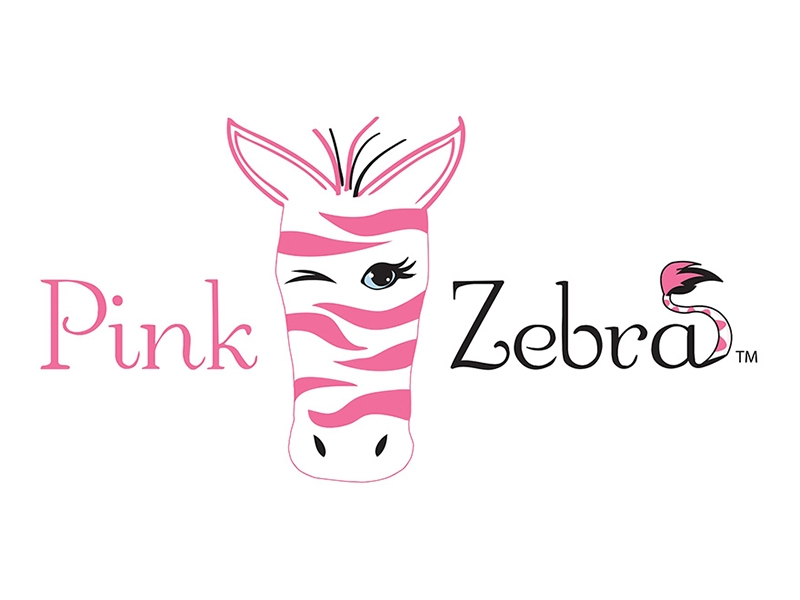 Pink Zebra by Dana Ross