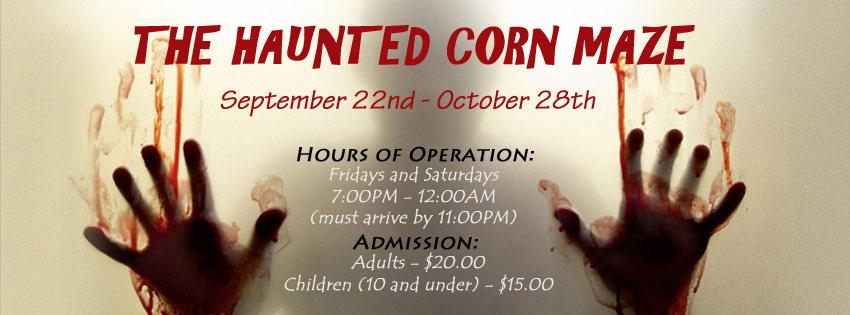 Haunted Corn Maze of Moorhead