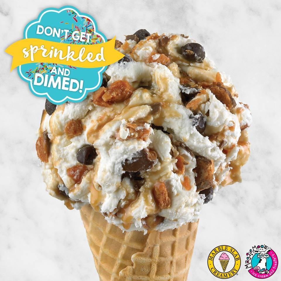 Great America Sales Gift: Great American Cookie And Marble Slab Creamery $10 Gift