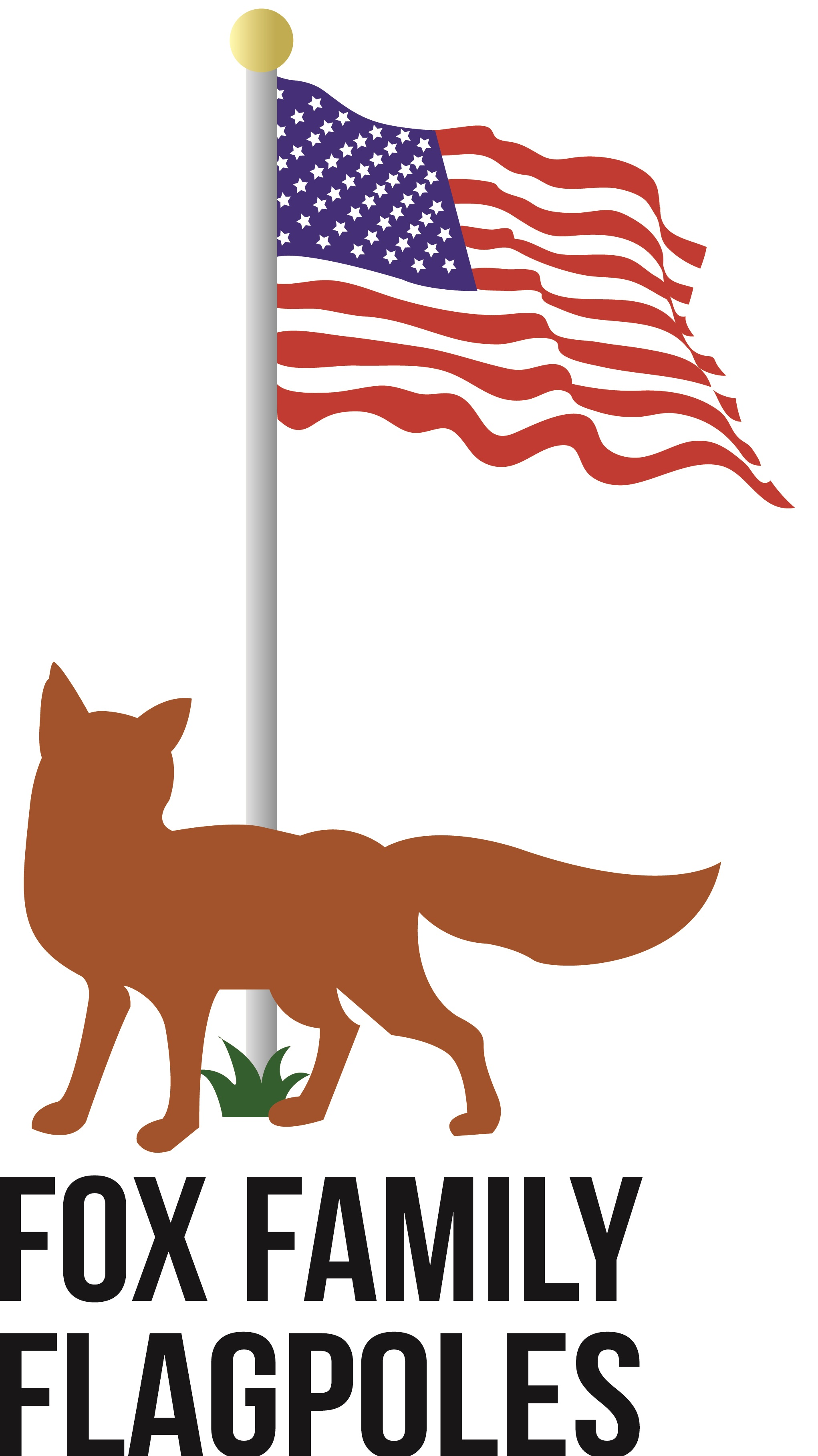 Fox Family Flagpoles