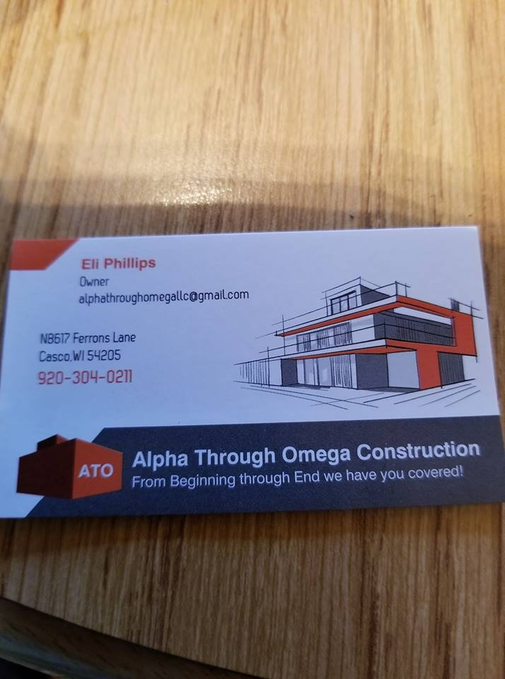 ALPHA THROUGH OMEGA CONSTRUCTION